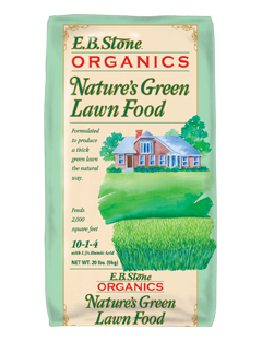 EB NATURES GREEN LAWN FOOD 20 LB